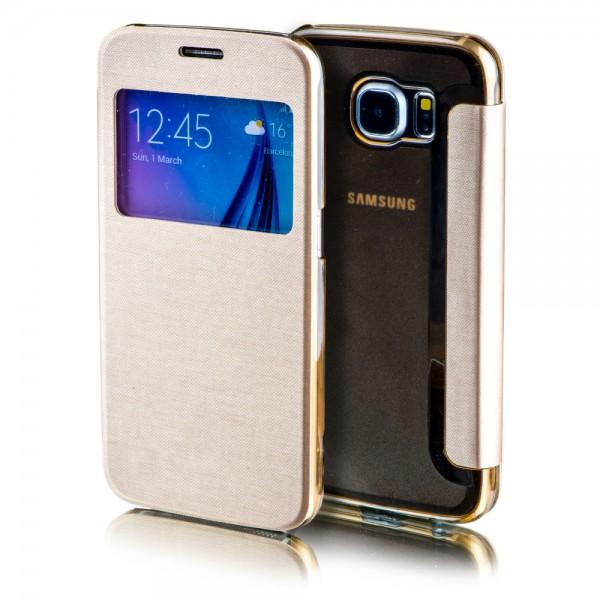 Smartcover Window für Samsung Galaxy Etui Case Tasche Cover Zubehör Schutz Neu