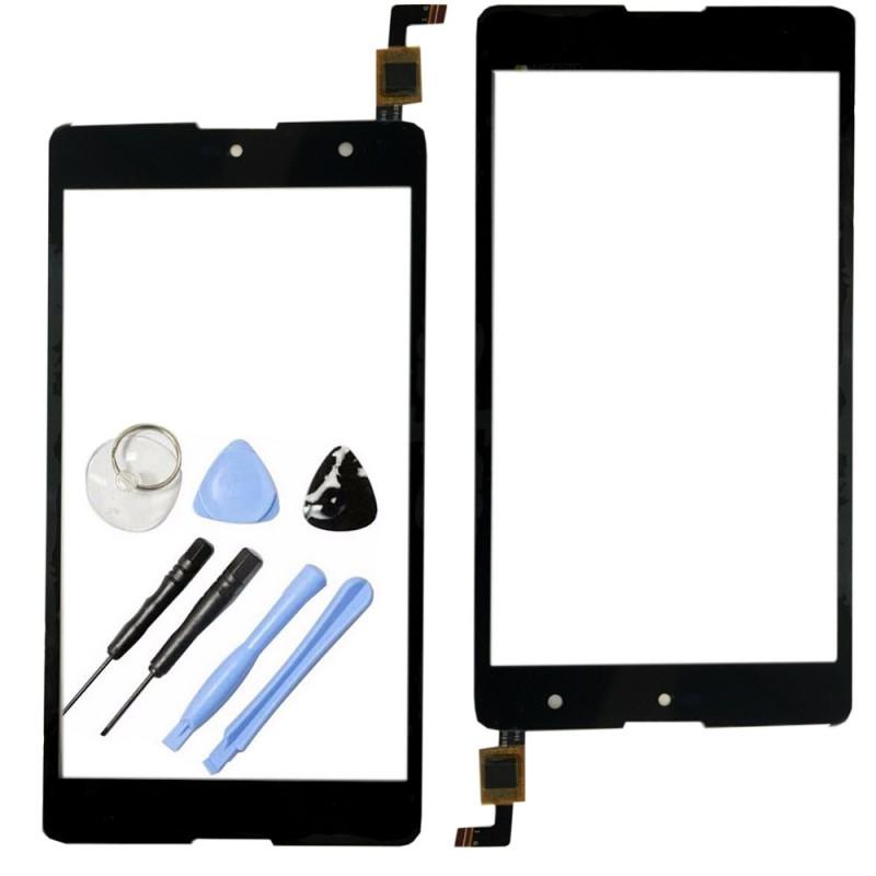 reparatur displayglas touch screen f r wiko robby lcd glas reparatur schwarz neu ebay. Black Bedroom Furniture Sets. Home Design Ideas
