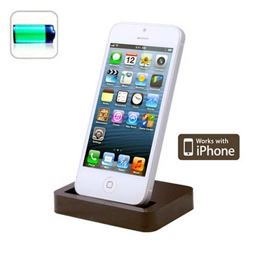 dockingstadion ladestation accessories for apple iphone 5 5s 5c shop handy table ebay. Black Bedroom Furniture Sets. Home Design Ideas