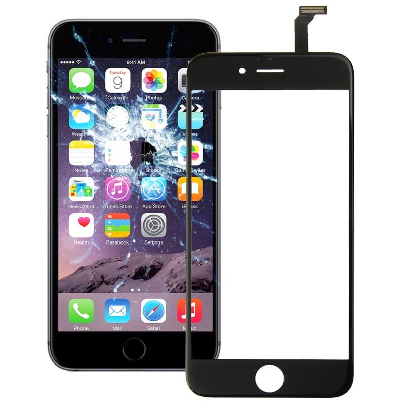 touchscreen display glas f r reparatur apple iphone 6 4 7 flex kabel schwarz neu ebay. Black Bedroom Furniture Sets. Home Design Ideas
