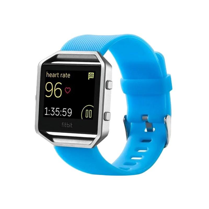 hochwertiges kunststoff silikon uhr armband f r fitbit blaze watch zubeh r neu ebay. Black Bedroom Furniture Sets. Home Design Ideas