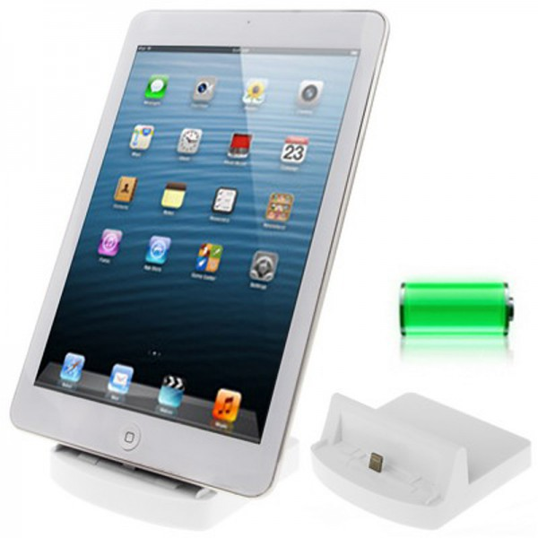 docking station for apple ipad air 2 mini 3 retina cradle. Black Bedroom Furniture Sets. Home Design Ideas