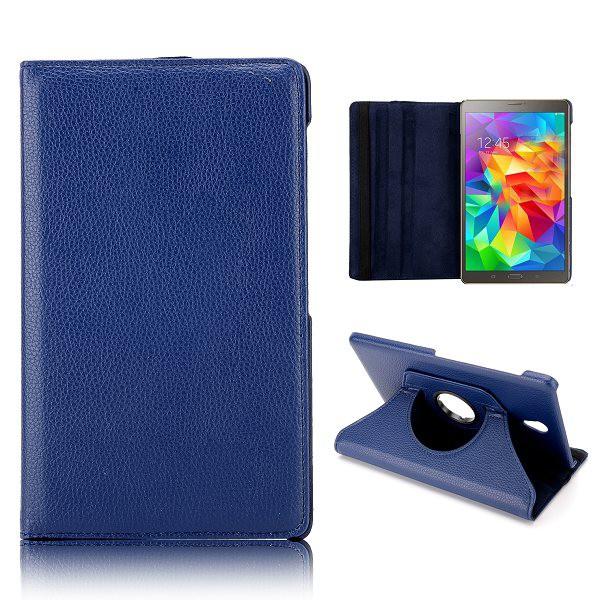 schutzh lle 360 grad blau tasche f r samsung galaxy tab s. Black Bedroom Furniture Sets. Home Design Ideas